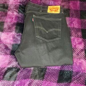 Black Levi's 505 Men's Jean's 38x30 Classic Look!